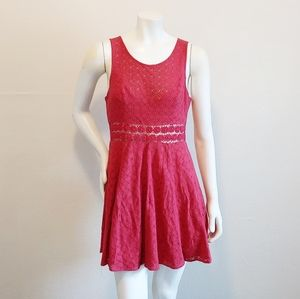 Free People Lace Knit Dress SZ 6
